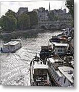 River Seine. Paris Metal Print