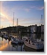 River Suir, From Millenium Plaza Metal Print