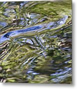 River Swirls - Abstract Metal Print