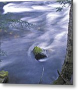 River Time Exposure Metal Print
