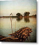 Riverbank Metal Print
