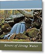 Rivers Of Living Water Metal Print