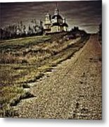 Road Of Prayers Metal Print