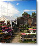 Road Side Stand Metal Print