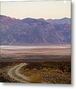 Road Through Death Valley Metal Print