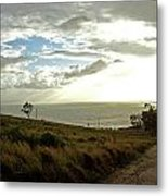 Road To The Ocean Metal Print