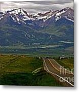 Road To The Sangre De Cristos Metal Print
