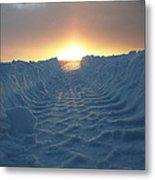 Road To The Sun Iv Metal Print