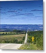 Road To The Valley Metal Print
