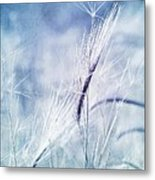 Roadside Blues Metal Print by Priska Wettstein