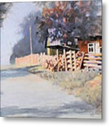 Roadside Metal Print by Kevin Lawrence Leveque