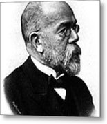 Robert Koch, German Microbiologist Metal Print