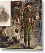 Robert Raikes (1735-1811) Metal Print by Granger