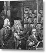 Robert Walpole (1676-1745) Metal Print