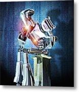 Robot Intelligence Metal Print