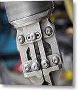 Robotic Arm On Deep Sea Submarine Metal Print