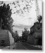 roccas bastion and paphos gate and restricted area of the UN buffer zone in the green line Metal Print