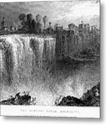 Rochester: Genesee Falls Metal Print