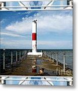 Rochester New York Harbor Lighthouse Metal Print