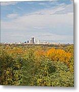 Rochester Skyline Panorama Metal Print