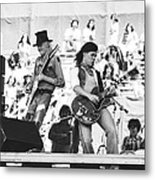 Rock And Roll At Day On The Green 1975 Metal Print