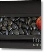 Rock Apple Metal Print