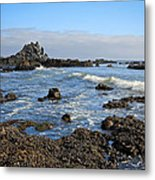 Rock Beach Metal Print