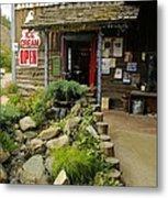 Rock Creeks Trading Post Metal Print