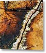 Rock Detail, Killarney Provincial Park Metal Print