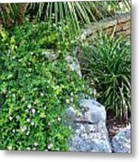 Rock Garden Beauty Metal Print