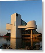 Rock Hall In The Evening Metal Print