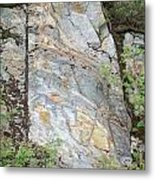 Rock In A Hard Place Metal Print