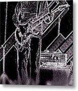 Rock It Metal Print by David Alvarez