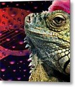 Rock Lizard Metal Print