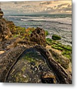 Rock Pool View Metal Print
