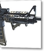 Rock River Arms Ar-15 Rifle Equipped Metal Print