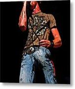 Rock Singer Metal Print