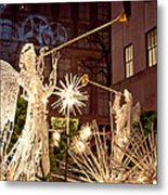 Rockefeller Angels Metal Print