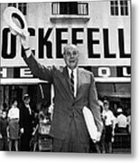 Rockefeller Family. Future Governor Metal Print by Everett