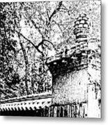 Rockefeller Garden Fence Metal Print
