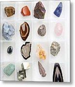 Rocks And Minerals Metal Print
