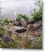 Rocks Of Freedom Metal Print