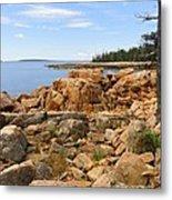 Rocky Coast Of Maine Metal Print