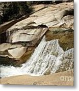 Rocky Mountain Cascades Metal Print