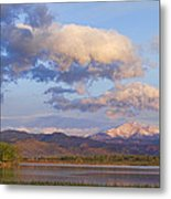 Rocky Mountain Early Morning View Metal Print