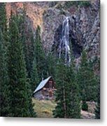 Rocky Mountain Hideaway Metal Print
