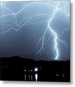 Rocky Mountain Storm  Metal Print