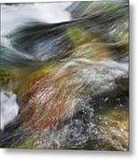Rocky Riverbed Metal Print