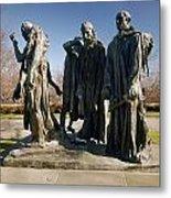 Rodin: Burghers Of Calais Metal Print