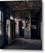 Roe - Graves House Kitchen Of Bannack Ghost Town - Montana Metal Print